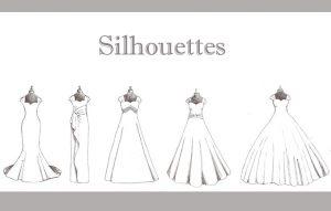 سیلوئت های لباس : (Silhouette)
