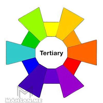 رنگهای گروه سوم